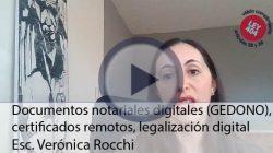 Documentos Notariales Digitales (GEDONO), Certificados Remotos, Legalización Digital