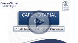 Café Notarial – CAIP (NO ACREDITA PUNTOS)