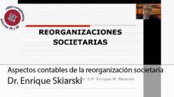 Aspectos impositivos de las reorganizaciones
